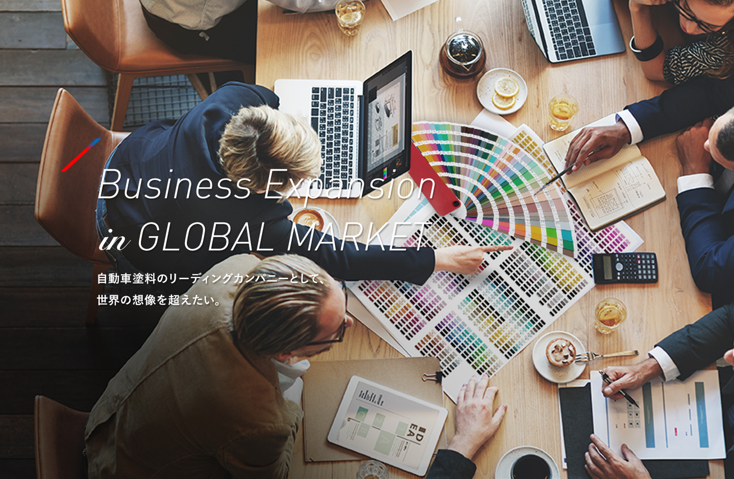 Business Expansion in GLOBAL MARKET
